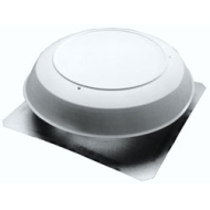 350BK ATTIC VENTILATOR FAN ROOF MOUNTED 1050 CFM ADJUSTABLE BUILT IN THERMOSTAT BLACK DOME QTY 1