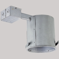 """P187TG 6"""" RECESSED CAN OLD WORK REMODEL INCANDESCENT 120 VOLT IC RATED AIRTIGHT QTY 1/6"""