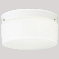 P352030 CEILING FIXTURE WHITE DRUM 10 INCH QTY 1