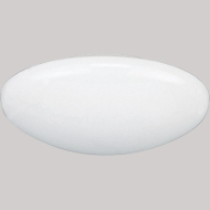 """P8025-60 6"""" DOME SHOWER LENSE WHITE POLYCARBONATE IC RATED WITH 60 WATT NON IC WITH 75 WATT WET LOCATION LISTED PROGRESS QTY 1/6"""