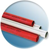 ".5EMTRED 1/2"" EMT RED FIRE ALARM CONDUIT FOR FIRE BOXES AND SECURITY SYSTEMS HOT GALVANIZED STEEL QTY 100/7000"