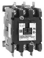 C25DND230A 30A 2 POLE CONTACTOR DEFINITE PURPOSE 120 VOLT COIL 30 AMPS (INDUCTIVE) 40 AMPS (RESISTIVE) TERMINAL TYPE BINDING HEAD SCREWS TYPE OPEN QTY 1