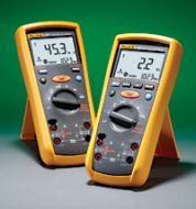 FLUKE1587-FC FLUKE INSULATION MULTIMETER COMBINES A DIGITAL INSULATION TESTER AND FULL FEATURED DIGITAL MULTIMETER TESTS 50 TO 1000 VOLTS INSULATION TO 2.0 G OHMS INCLUDES K-TYPE THERMOCOUPLE PROBE TEST LEADS AND ALLIGATOR CLIPS QTY 1
