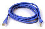 17-6098Z0-003FB 3 FOOT PATCH CORD CAT6 BLUE QTY 1
