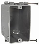 7820RAC 1G NONMETALLIC BOX WITH CAPTIVE NAIL 20 CUBIC INCH QTY 100