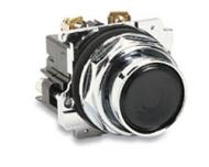 10250T23B PUSHBUTTON OPERATOR 30.5 MM NON-ILLUMINATED MOMENTARY CONTACT 1-NO OPERATION CAP FLUSH BLACK NEMA 4 4X 13 QTY 1