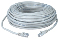100PATCH 100 FOOT CAT5 E PATCH CORD WHITE QTY 1