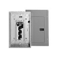 3BR1224L125 125 AMP MAIN LUGS 12 SPACES/24 CIRCUIT BREAKER LOADCENTER 3 PHASE 4 WIRE 208Y/120-240 VOLT INDOOR ENCLOSURE SERIES BR QTY 1