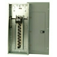 BR3030B150 150 AMP MAIN 30 SPACES/30 CIRCUIT BREAKER LOADCENTER 1 PHASE 3 WIRE 120-240 VOLT INDOOR ENCLOSURE QTY 1