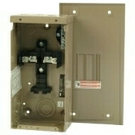 "CH2L125SP 125 AMP LOADCENTER WITH MAIN LUGS 120/240 VOLT 1 PHASE 3 WIRE 2 CIRCUIT/SPACES ENCLOSURE INDOOR 11.38"" HIGH X 6.88"" WIDE X 3.39"" DEEP QTY 1"