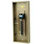 "CH32B200J 200 AMP BOX AND INTERIOR WITH MAIN BREAKER 120/240 VOLT 1 PHASE 3 WIRE 32 CIRCUIT/SPACES ENCLOSURE INDOOR 34.13"" HIGH X 14.31"" WIDE X 3.88"" DEEP USE CH8JS OR F COVER QTY 1"
