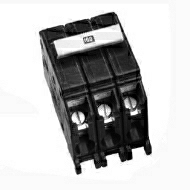 CH3100 100 AMP 3 POLE 240 VOLT STANDARD BREAKER THERMAL MAGNETIC LOADCENTER MOUNTING LINE TERMINAL PLUG-ON CLIP LOAD TERMINAL LUG SERIES CH QTY 5/25