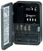 ET1105C 24HR ELECTRONIC TIMER UP TO 14 ON/OFF PER DAY SPST 30A 120/208/240/277 BATTERY BACK-UP QTY 1