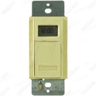 EI600C IN-WALL DIGITAL 7-DAY ASTRO TIMER 20 AMP 24-277 VOLT IVORY QTY 1