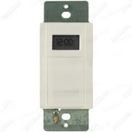 EI600LAC IN WALL DIGITAL 7 DAY ASTRO TIMER 20 AMP 24-277 VOLT LIGHT ALMOND QTY 1