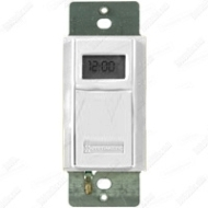 EI600WC IN-WALL DIGITAL 7-DAY ASTRO TIMER 20 AMP 24-277 VOLT WHITE QTY 1
