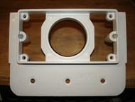 104101 VACUUM MOUNTING PLATE PLASTIC QTY 1