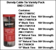 CTASST UNIRAP CABLE TIE VARIETY PACK QTY 1