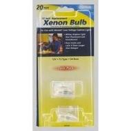 XP02XB 20W 12 VOLT XENON REPLACEMENT LAMP QTY 1/12 2 LAMPS PER PACK