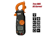 CL800 CL2000 (OLD#) 400 AMP AC/DC TRUE RMS CLAMP METER AUTO RANGING MEASURES AC/DC VOLTAGE AC/DC CURRENT QTY 1