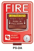 PSDA DUAL ACTION ADDRESSABLE MANUAL FIRE ALARM PULL STATION QTY 1